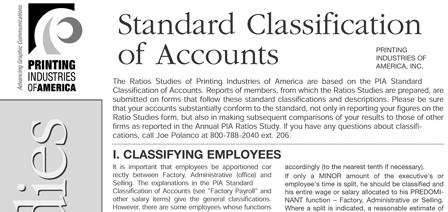 Chart of Accounts - PIA